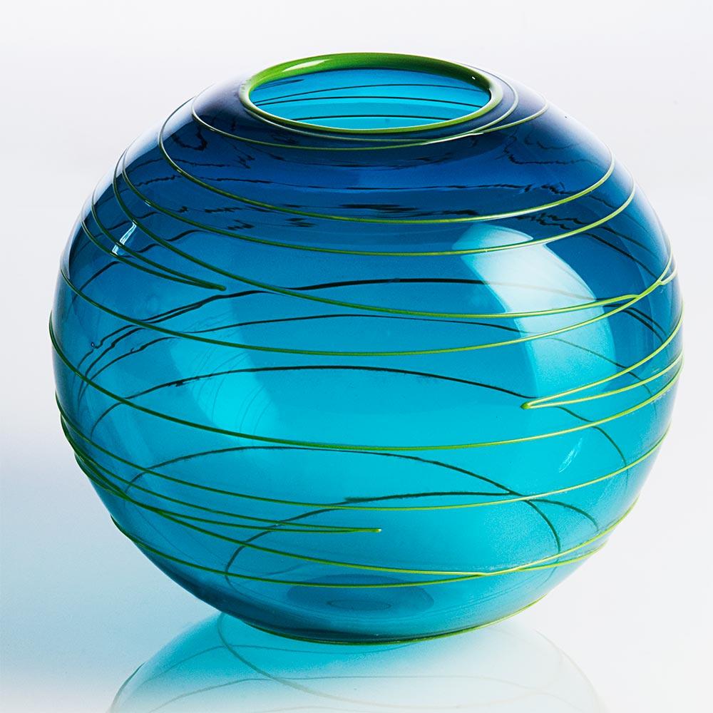 Spiralvase fra Yerst Glas